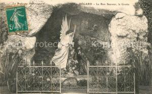 AK / Ansichtskarte Begard Grotte le bon sauveur Begard