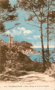 AK / Ansichtskarte Noirmoutier en l_Ile Anse Rouge et Tour Plantier Noirmoutier en l_Ile