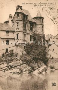 AK / Ansichtskarte Espalion Ancienne Mairie sur le Lot Espalion