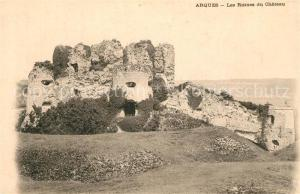 AK / Ansichtskarte Arques_Aveyron Ruines du Chateau Arques Aveyron