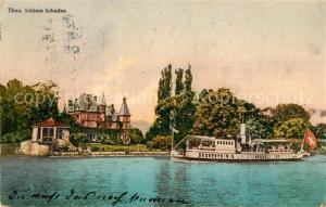 AK / Ansichtskarte Thun_BE Schloss Schadau Thun_BE