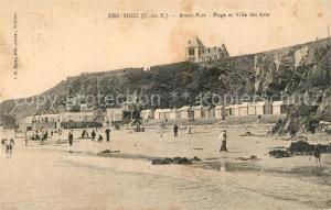 AK / Ansichtskarte Binic_Cotes_d_Armor Avant Port Plage Villa des Arts Binic_Cotes_d_Armor