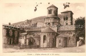 AK / Ansichtskarte Cruas Eglise abbatiale Xe et XIe siecle Cruas