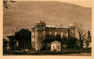 AK / Ansichtskarte Saint Pierreville Chateau de Latour Schloss Saint Pierreville