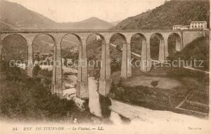 AK / Ansichtskarte Tournon sur Rhone Viaduc Tournon sur Rhone