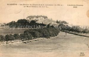 AK / Ansichtskarte Saint Agreve Les Routes du Cheylard et de Lamastre Mont Chiniac Saint Agreve