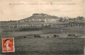 AK / Ansichtskarte Saint Agreve Vue generale Station estivale Saint Agreve