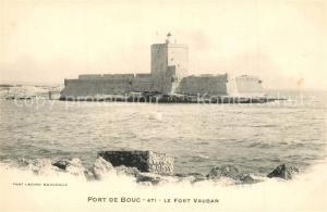 AK / Ansichtskarte Port de Bouc Fort Vauban Port de Bouc