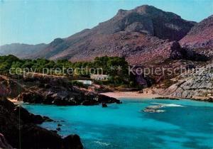 AK / Ansichtskarte Cala_San_Vicente_Ibiza Panorama Kueste Strand Cala_San_Vicente_Ibiza