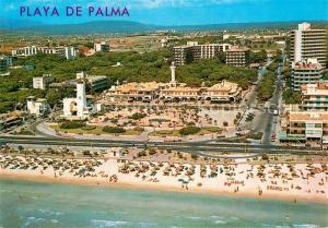 AK / Ansichtskarte Playa_de_Palma_Mallorca Vista aerea Playa_de_Palma_Mallorca