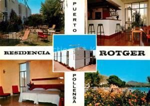 AK / Ansichtskarte Puerto_de_Pollensa Residencia Rotger Strand Puerto_de_Pollensa