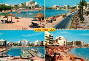 AK / Ansichtskarte Can_Pastilla_Palma_de_Mallorca Strand Hotels Hafen Can_Pastilla