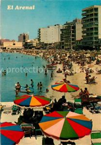 AK / Ansichtskarte El_Arenal_Mallorca Strand Hotels El_Arenal_Mallorca