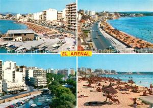 AK / Ansichtskarte El_Arenal_Mallorca Panorama Strand Kueste Hotels Hafen El_Arenal_Mallorca