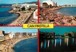 AK / Ansichtskarte Can_Pastilla_Palma_de_Mallorca Las playas Panorama Strand Hotels Nachtaufnahme Can_Pastilla