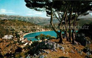 AK / Ansichtskarte Puerto_de_Soller Vista parcial Kuestenpanorama Berge Puerto_de_Soller