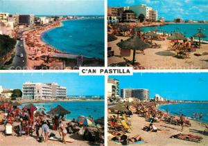 AK / Ansichtskarte Can_Pastilla_Palma_de_Mallorca Panorama Straende Hotels Can_Pastilla