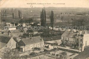 AK / Ansichtskarte Montrieux en Sologne Panorama Montrieux en Sologne