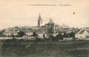 AK / Ansichtskarte La_Souterraine Panorama Kirche La_Souterraine