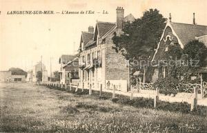 AK / Ansichtskarte Langrune sur Mer Avenue de l Est Langrune sur Mer