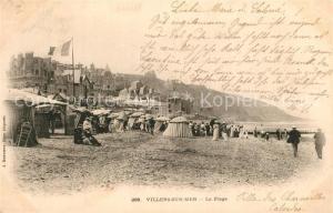 AK / Ansichtskarte Villers sur Mer Plage Villers sur Mer