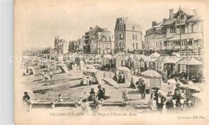 AK / Ansichtskarte Villers sur Mer Plage  Heure des Bains Villers sur Mer