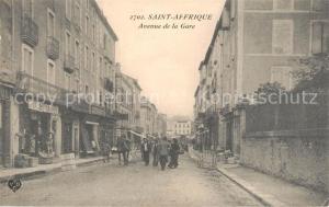 AK / Ansichtskarte Saint Affrique Avenue de la Gare Saint Affrique