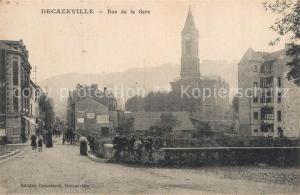 AK / Ansichtskarte Decazeville_Aveyron Rue de la Gare Decazeville_Aveyron