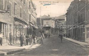 AK / Ansichtskarte Decazeville_Aveyron Rue Cayrade Decazeville_Aveyron