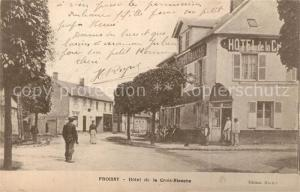 AK / Ansichtskarte Froissy Hotel de la Croix Blanche Froissy