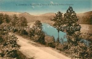 AK / Ansichtskarte Corbion Vue prise sur la Semois de la Route a Poupehan