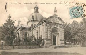 AK / Ansichtskarte Dax_Landes Chapelle du Berceau de Saint Vincent de Paul Dax_Landes