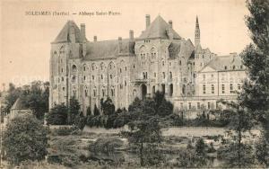 AK / Ansichtskarte Solesmes_Sarthe Abbaye Saint Pierre Solesmes_Sarthe