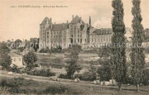 AK / Ansichtskarte Solesmes_Sarthe Abbaye des Benedictins Solesmes_Sarthe