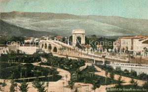 AK / Ansichtskarte Valence_Drome Vue generale des deux ponts Valence_Drome