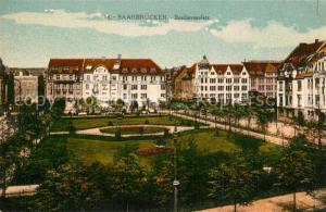 AK / Ansichtskarte Saarbruecken Beethovenplatz Saarbruecken