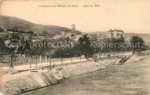 AK / Ansichtskarte La_Voulte sur Rhone Quai du Midi La_Voulte sur Rhone
