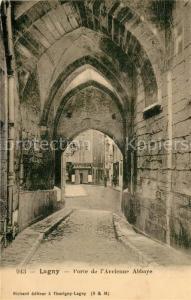 AK / Ansichtskarte Lagny sur Marne Porte de Ancienne Abbaye Lagny sur Marne
