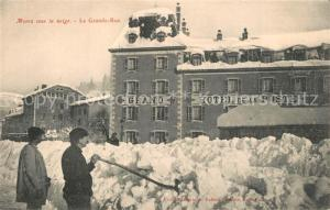 AK / Ansichtskarte Morez Grand Hotel de la Poste Morez