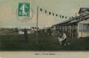 AK / Ansichtskarte Ablon sur Seine Tir aux Pigeons Ablon sur Seine