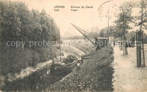 AK / Ansichtskarte Lierre Avenue du Canal Lierre