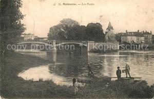 AK / Ansichtskarte Malicorne sur Sarthe Les Ponts Malicorne sur Sarthe