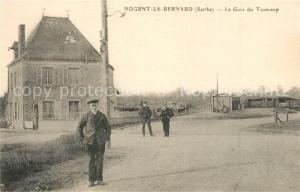 AK / Ansichtskarte Nogent le Bernard La Gare du Tramway Nogent le Bernard