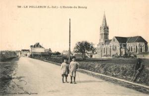 AK / Ansichtskarte Le_Pellerin Entree du Bourg Le_Pellerin