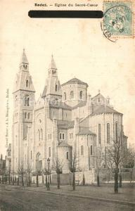 AK / Ansichtskarte Rodez Eglise du Sacre Coeur  Rodez