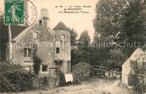 AK / Ansichtskarte Mandres les Roses Vieux Moulin de Rochopt Passerelle sur l Yerres Mandres les Roses