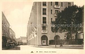 AK / Ansichtskarte Dax_Landes Cours de Verdun Dax_Landes