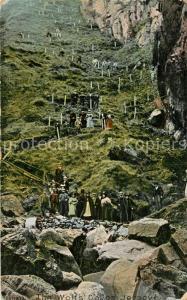 AK / Ansichtskarte Jersey_Kanalinsel Wolf s Caves