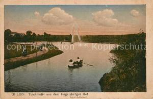 AK / Ansichtskarte Ohligs Motiv am Teich Engelsberger Hof Ohligs