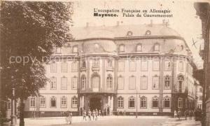 AK / Ansichtskarte Mayence_Mainz Palais du Gouvernement
